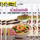 Lobo Sour Vegetable Curry Paste Thai Herbal Food 50 G (1.76 Oz)