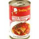 Fried Mackerels in Chilli Sauce - 155 g / 5.5 oz - Product o