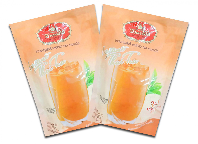 Thai Tea Instants Powder Wt. 100g x 4 Packs