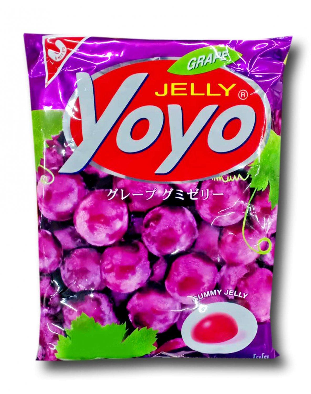 4x YOYO Jelly Fruity Gelatin Gummy Jelly Desert Size 80 Grams (GRA