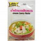 Green Curry Paste 50 G (1.76 Oz.) Thai Herbal Food X 5 Bags