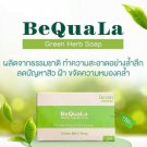 2 x BeQuala Green Herb Soap Bfree of chemicals clean smooth deep