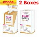 2 boxes Namu Life Snail White Gold SPF30 PA plus plus plus Revi