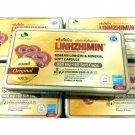 X 2 LINHZHIMIN DIETARY SUPPLEMENT KOREAN LINHZHI MINERAL SOFT 60 CAPS