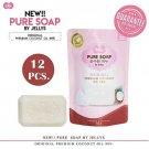 12X Jellys Pure Soap Premium Coconut Oil Aura Whitening Skin Gluta