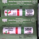 2x VAPEX HR Nasal Inhalants  RELIEVES NASAL CONGESTION borneol BAYER