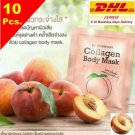 10x Collagen Body Mask Peach Extract Whiten Brighten Smooth Skin Redu