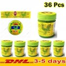 36 PCS Hong Thai Inhalant Traditional Herbal Natural Aroma Nasal Inha