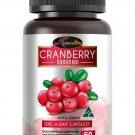Auswelllife Cranberry 50000mg 60 Capsules High Anti Aging Collagen Vit