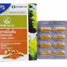 6 Boxes of Tumeric Capsule Traditional Thai Herbs, Relieve Flatulence.