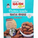 Koh Kae plus 3 Packs of Roasted Almonds, Premium grade Protein sna