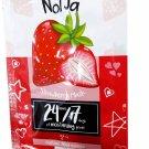 2 Mask sheets of Nolja Strawberry Mask Moisturising & Energising. Fre