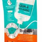 4 Mask sheets of Dermedy Aqua & Anti-Aging Double Effect Mask. No