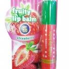 2 Packs of Watsons Fruity Lip Balm SPF10 Strawberry Strawberry has