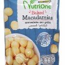 Tong Garden 2 Packs of Baked Macadamias, Premium grade snack by Nu