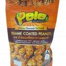 Pele 2 Packs of Sesame Coated Peanuts, Deliicious Homemade Nut Snack