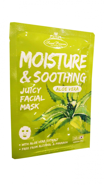 2 Mask sheets of Sweet Princess Moisture & Soothing Juicy Facial M