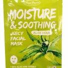 4 Mask sheets of Sweet Princess Moisture & Soothing Juicy Facial M