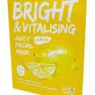 4 Mask sheets of Sweet Princess Bright & Vitalising Juicy Facial M