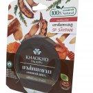 3 Packs of 100 Natural Tamarind Mask by KHAOKHO TALAYPU. No Artifi