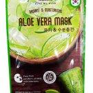 4 Mask sheets of Watsons Radiant & Moisturising Aloe Vera Mask. Fr