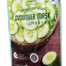 4 Mask sheets of Watsons Refreshing & Moisturising Cucumber Mask. Fre