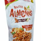 2 Packs of Roasted Almonds No Salt. Healthy and Delicious Snack Re