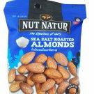 4 packs of Sea Salt Roasted Almonds. The Signature of Nuts Roasted