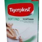 2 Packs of Tigerplast Soft Pad Adhesive Gauze Pad, Breathable, Absorb