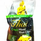 2 Packs of Crispy Mixed Fruit Chips delicious Fruit Snack From My