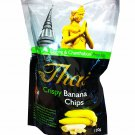 3 Packs of Crispy Banana Chips Delicious Fruit Snack From My Choic