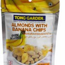 Oven Roasted Almonds with Banana Chips premium grade snack. by Tong