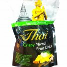 3 Packs of Crispy Mixed Fruit Chips delicious Fruit Snack From My