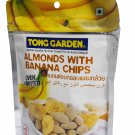 2 packs of Oven Roasted Almonds with Banana Chips premium grade sn