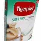 4 Packs of Tigerplast Soft Pad Adhesive Gauze Pad, Breathable, Absorb