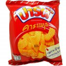 Fried Yam Chips Coated with Butter Caramel Snack Net Wt 38g (1.34