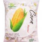 Haoliyuan Corn Flavor Sweet Soft Chewy Milk Candy 100 Pieces (360g)
