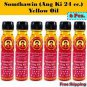 6x Somthawin (Ang Ki) Yellow Oil 4cc.