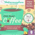 3x Green Sweet Coffee Instant Mixed Coffee 180g. (10 Sachets Per