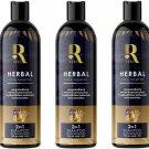 Hair Accelerate Long Hair x10 Loss Anti Rita Shampoo 2 in 1 Shampoo Conditioner 350ml (Pack of 3)