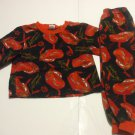 Disney Pixar Lightning McQueen Red PJs  Pyjamas Toddlers 2T 100% Cotton