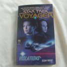 Star Trek Voyager #4 Violations Softcover Paperback Book