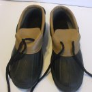 Weather Guard Duck Shoes Brown Black Size 6 Kids 9.5 Inches