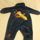 Disney Baby Romper Holidays Blue Tiger 3 Months 75% Cotton 25% Polyester