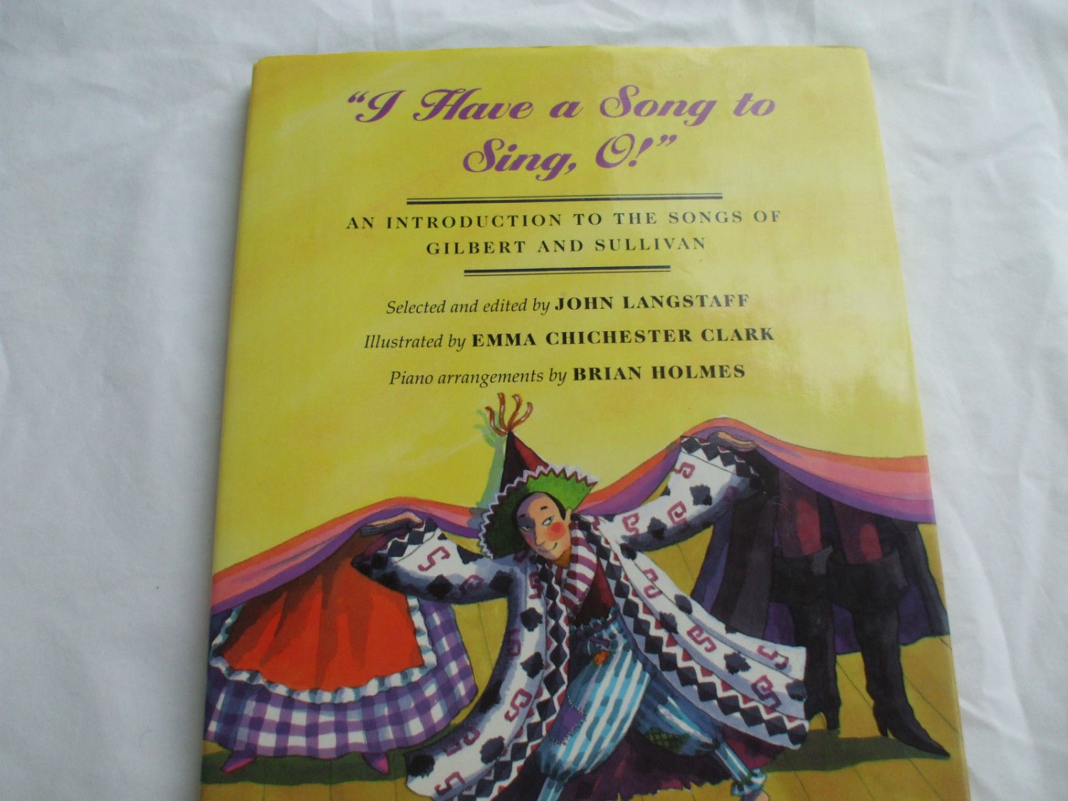 I Have a Song to Sing O Gilbert And Sullivan Music book Hardcover Grades 4 To 8