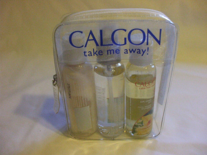 3 pc Calgon Take Me Away Travel Size Voyage Kit