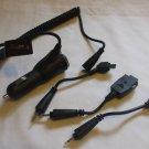 Rocketfish RF-SAM55 Samsung Cell Phone Mobile Car Travel Charger  Black