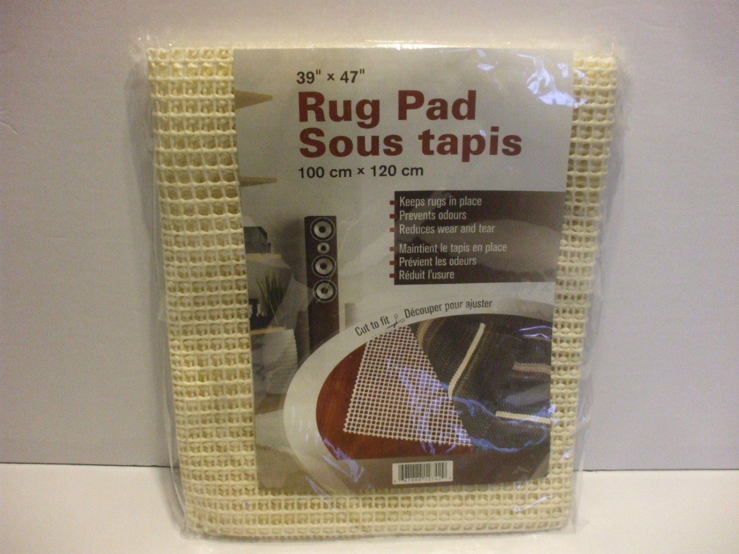 Anti Slip Rug Pad 39 Inches X 47 Inches