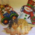3 Christmas Holiday Seasons Empty Gift Bags