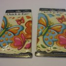 2 Packaged Butterfly Wallpaper Border Quick & Easy Prepasted 5 Yards ( 15 Feet )